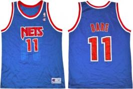 Yinka Dare NJ Nets Blue