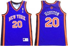 Allan Houston New York Knicks Blue European
