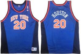 Allan Houston New York Knicks Blue New