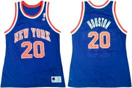 Allan Houston New York Knicks Blue