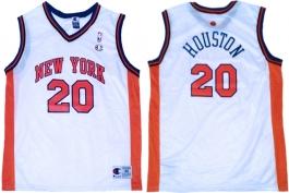 Allan Houston New York Knicks White Vest