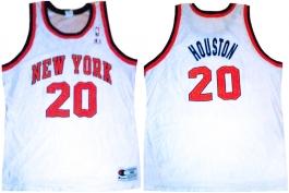 Allan Houston New York Knicks White