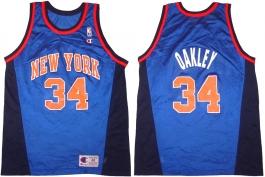 Charles Oakley New York Knicks Blue Alternate