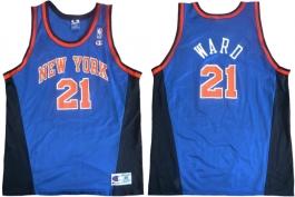 Charlie Ward New York Knicks Blue New
