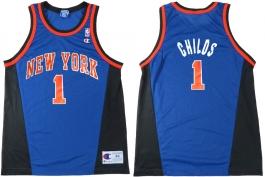 Chris Childs New York Knicks Blue Alternate