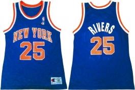 Doc Rivers New York Knicks Blue