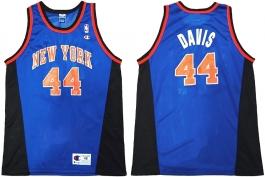 Hubert Davis New York Knicks Blue Alternate