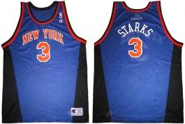 John Starks New York Knicks Blue New