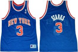 John Starks New York Knicks Blue