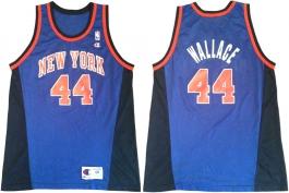 John Wallace New York Knicks Blue Alternate