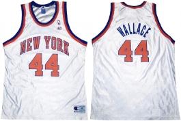 John Wallace New York Knicks White