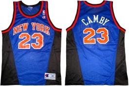 Marcus Camby New York Knicks Blue New