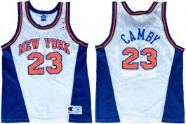 Marcus Camby New York Knicks White New