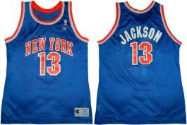 Mark Jackson New York Knicks Blue