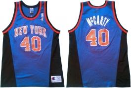 Walter McCarty New York Knicks Blue Alternate