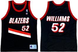 Buck Williams - Road Jersey (1992-1993)