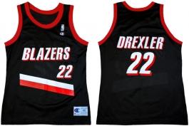 Clyde Drexler - Road Jersey (1992-1993)
