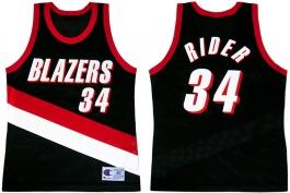 Isaiah Rider - Road Jersey (1998-1999)