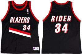 Isaiah Rider - Road Jersey (1996-1997)