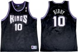 Mike Bibby Sacramento Kings Black