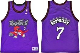 Alvin Robertson Toronto Raptors Purple