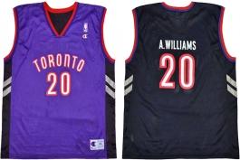 Alvin Williams Toronto Raptors Purple Vest