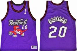 Damon Stoudamire Toronto Raptors Purple