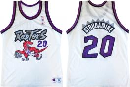 Damon Stoudamire Toronto Raptors White