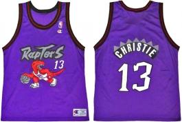 Doug Christie Toronto Raptors Purple