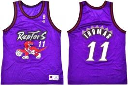 Isiah Thomas Toronto Raptors Purple