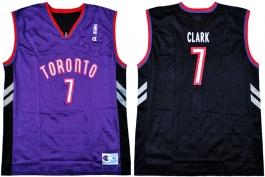 Keon Clark Toronto Raptors Purple Vest