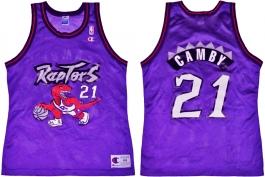Marcus Camby Toronto Raptors Purple