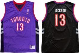 Mark Jackson Toronto Raptors Purple Vest