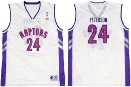 Morris Peterson Toronto Ratpors White Vest