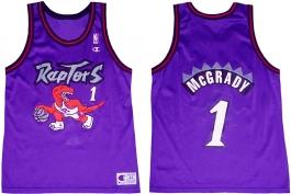 Tracy McGrady Toronto Raptors Purple