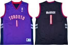 Tracy McGrady Toronto Raptors Purple Vest