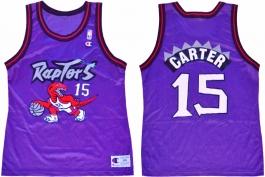 Vince Carter Toronto Raptors Purple