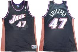 Andrei Kirilenko Utah Jazz Black