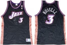 Bryon Russell Utah Jazz Black
