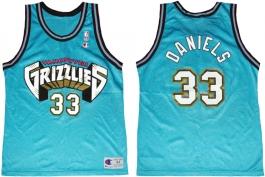 Antonio Daniels Vancouver Grizzlies Blue