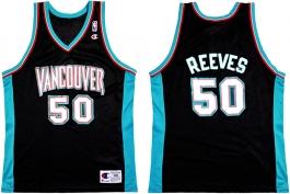 Bryant Reeves Vancouver Grizzlies Black