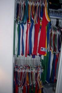 My closet circa 2003