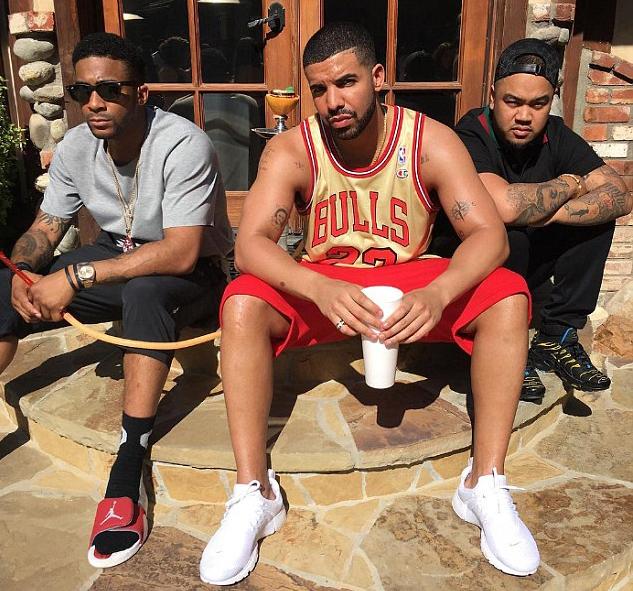 Drake Memorial Day Gold Jordan