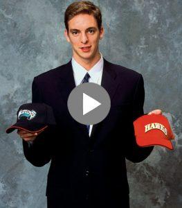 Pau Gasol 2001 Draft Day Video