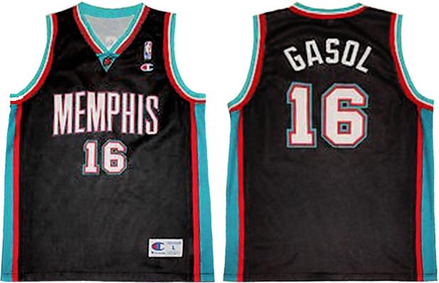 Pau Gasol Memphis Grizzlies Champion Europe Jeresy