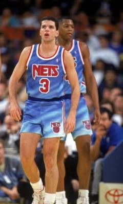 Drazen Petrovic New Jersey Nets 1990-1991